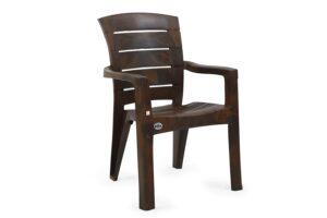 AVON Furniture 9955 Plastic Chair (W-Brown) 2