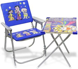 Akshat Kid's Chair and Table Set for Study and Dinning