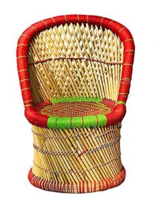 All INDIA HANDICRAFTS Cane Bamboo Chair for Ou