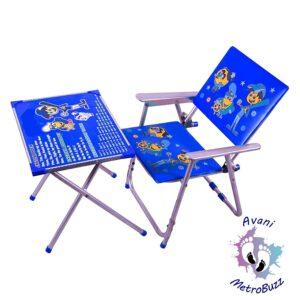 Avani MetroBuzz Kids Metal Table Chair Se
