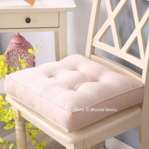 Beyond Basics Exclusive Tufted Cushions or Chair Pads