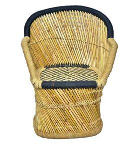 Brightway Collection Bamboo Chair, Mudda (Black)12
