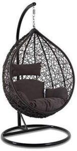 DMosaic Hanging Swing Chair with Cushion