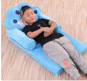 Elitehome PNP LK Trading L&T Imported Soft Toy Prince Sofa Cum Bed Shape Chair for Baby Sitting (Blue)4