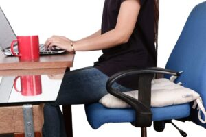 Encasa Homes 2 pcs Chair Pads 21