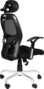 GTB BT-332 Black Chrome Base High Back Engineered Plastic Frame Office Chair