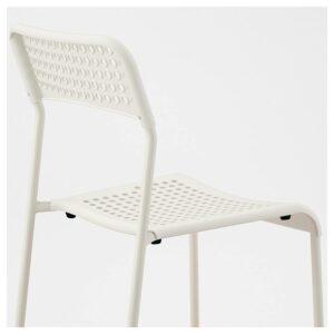 Ikea Adde Chair White Indoor4
