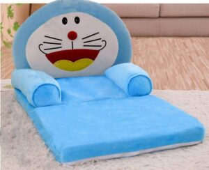 Mittan Hub Premium Pure Fiber with Sleepwell Foam Newly Kids Sofa Cum Bed, Soft and Rocking Chair, Baby Supporting Seat with Comfortable Slee1