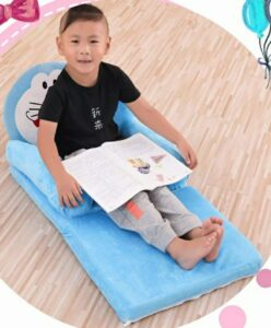 Mittan Hub Premium Pure Fiber with Sleepwell Foam Newly Kids Sofa Cum Bed, Soft and Rocking Chair, Baby Supporting Seat with Comfortable Slee5