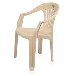 Nilkamal Ergonomic Designed Plastic Armchair Offering A Relaxing Seating Exper3