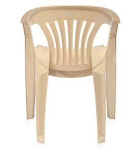 Nilkamal Ergonomic Designed Plastic Armchair Offering A Relaxing Seating Exwe