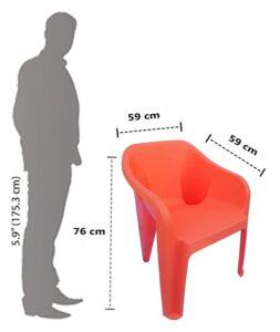 Nilkamal Mid Back Plastic Chair 3