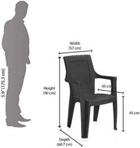 Nilkamal Mistique Premium Chair pack of 2 12