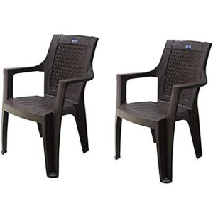 Nilkamal Mistique Premium Chair pack of 2
