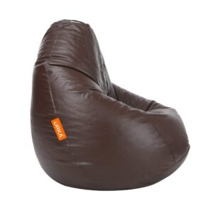ORKA Classic XXL with Footstool Bean Bag Cover Without Beans - Brown6