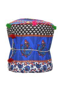 Rang Barse Rohi Rajasthani Handmade Patchwork Cotton Single Mudda3