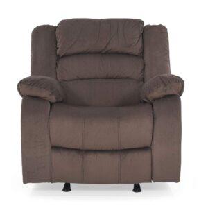 Royaloak Divine Single Seater Rocking Recliner (Brown) 3