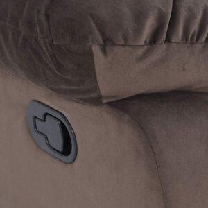 Royaloak Divine Single Seater Rocking Recliner (Brown)21