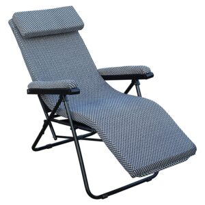 Spacecrafts Recliner Folding Easy Chair (NEC, Grey)