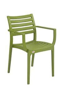 Supreme Empire Premium Plastic Chair (M. Green), 2