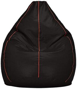 VSK XXL Bean Bag Cover Black P (Without Beans)