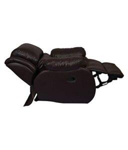 WellNap Solid Wood Single Seater Comfortable Manual Recliner (Dark Brown) 21