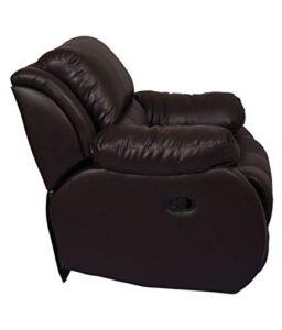 WellNap Solid Wood Single Seater Comfortable Manual Recliner (Dark Brown) 23