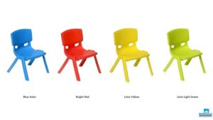 asNilkamal LivShine Intra Kid's Strong and Durable Kids Plastic School Study Chair