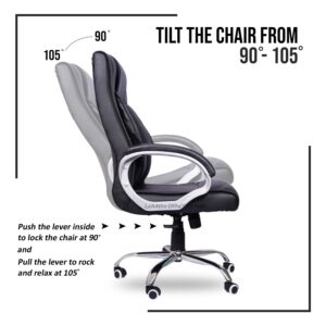 beAAtho JS-29 High Back Executive Office Revolving Chair123
