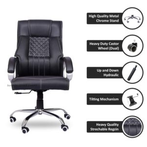 beAAtho JS-29 High Back Executive Office Revolving Chair5