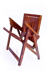 Jangid Handicraft Sheesham Wood Folding Arm Chair 2
