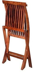 MH Decoart Sheesham Wood Comfort Folding Chair4