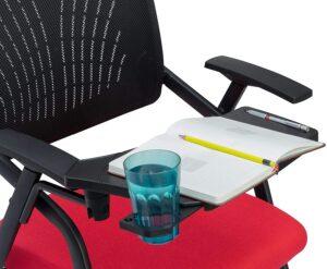 AlexDaisy Study Chair (Iron, Blue) 4