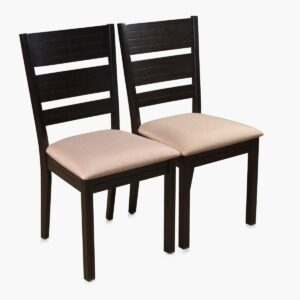 Home Centre Montoya 2 Seater Chair (Rubber Wood, Solid Wood, Brown)3