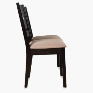 Home Centre Montoya 2 Seater Chair (Rubber Wood, Solid Wood, Brown)4