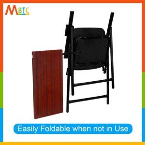 MBTC Mavic Folding Study Chair with Cushion & Adjustable Writing Pad4
