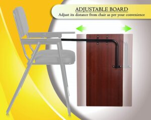 MBTC Mavic Folding Study Chair with Cushion & Adjustable Writing Pad45
