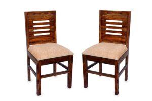 Varsha Furniture Solid Sheesham Wood Dining Chair