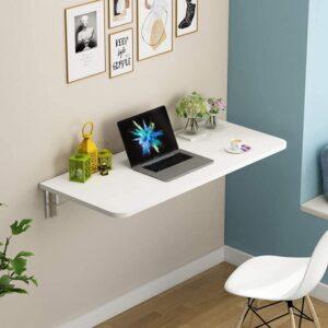 Mild Steel Wall-Mounted Folding Laptop Desk