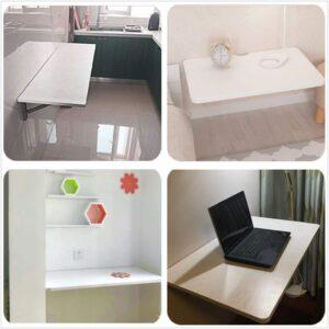 Mild Steel Wall-Mounted Folding Laptop Desk4