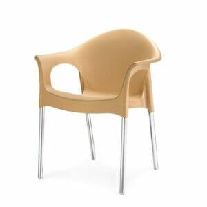 Nilkamal Chair (Biscuit)
